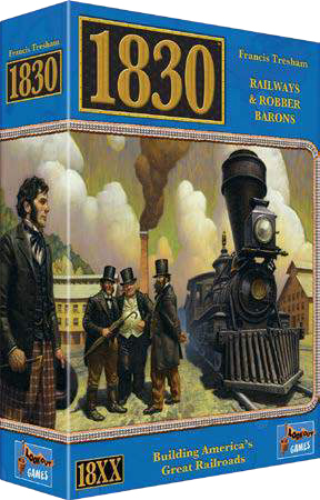 1830 (revised Edition) Game Box