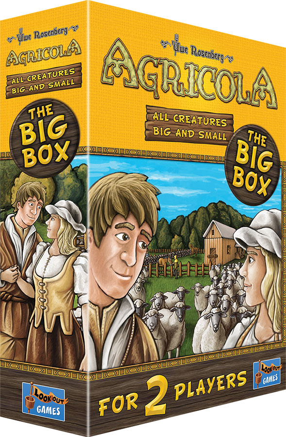 Agricola: All Creatures Big And Small (big Box) (stand Alone) Game Box
