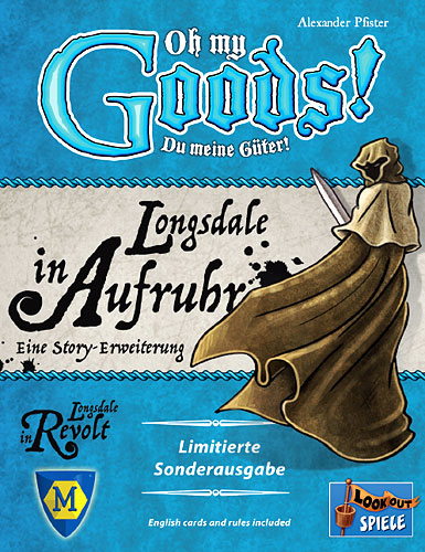 Oh My Goods: Longsdale In Revolt Expansion Game Box