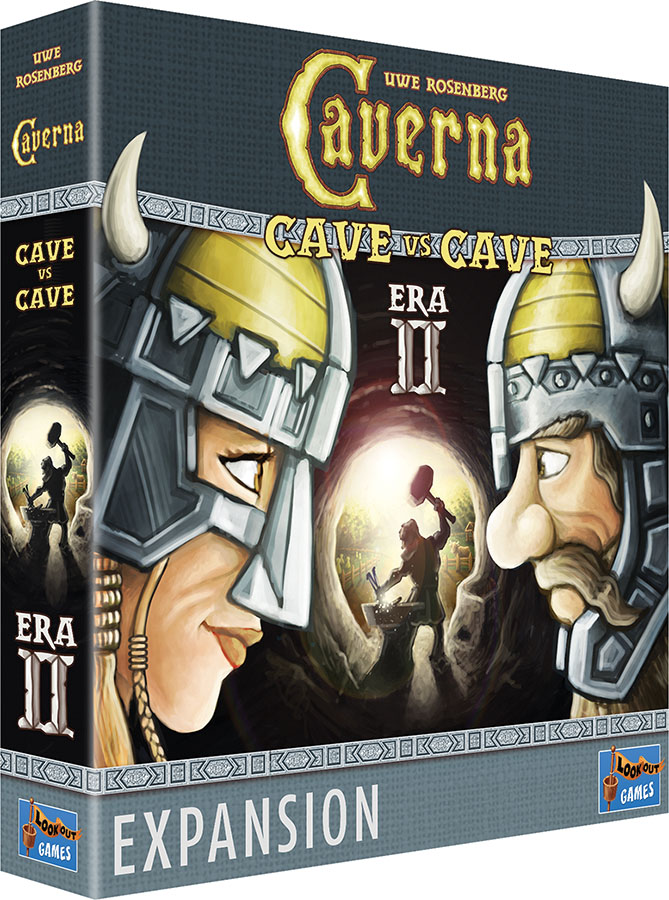 Caverna: Cave Vs Cave - Era Ii Expansion Game Box