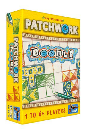 Patchwork Doodle Game Box