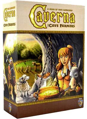 Caverna: The Cave Farmers Box Front