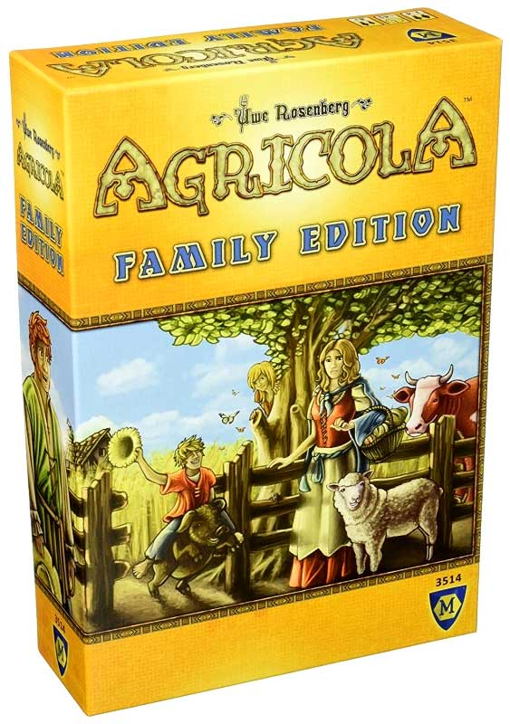 Agricola Family Edition Box Front