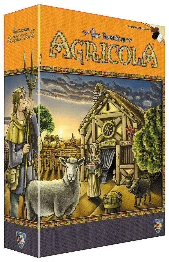 Agricola Revised Edition Box Front