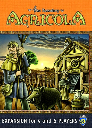Agricola: 5-6 Player Extension Box Front