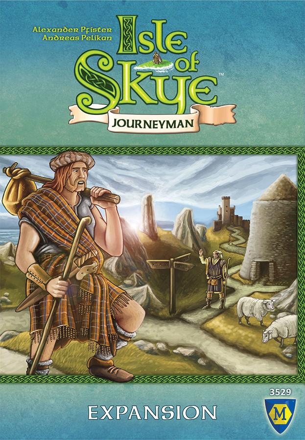 Isle Of Skye: Journeyman Expansion Box Front