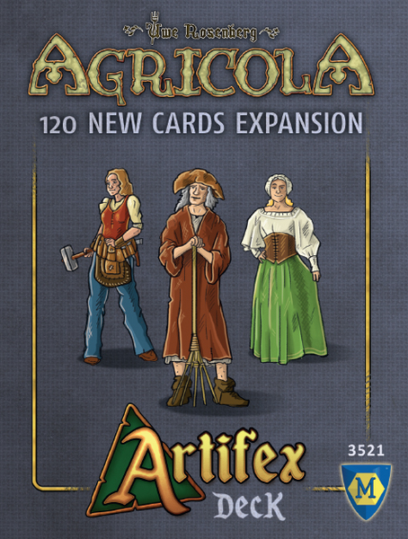 Agricola: Artifex Deck Expansion Game Box