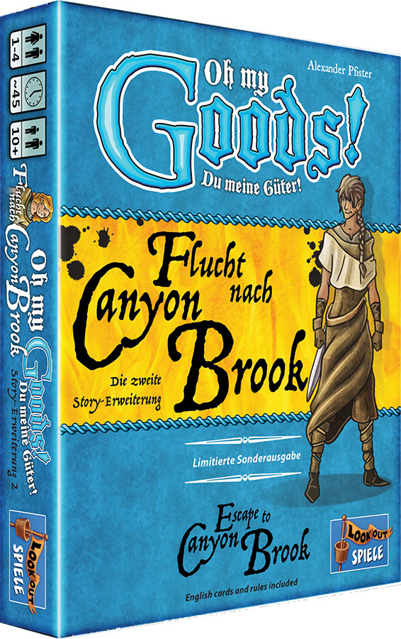 Oh My Goods: Escape To Canyon Brook Expansion Game Box