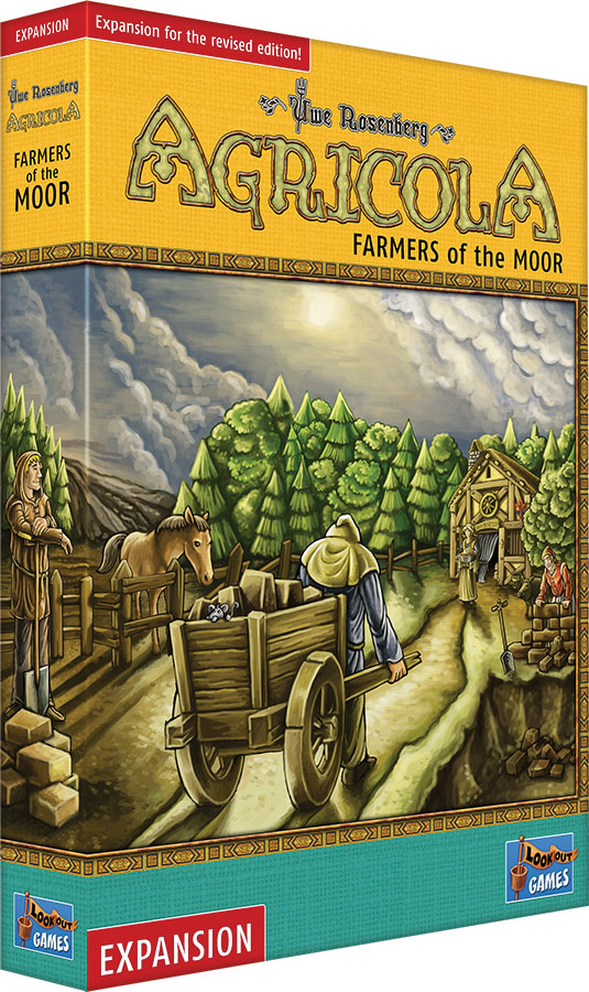 Agricola: Farmers Of The Moor Expansion (revised Edition) Game Box