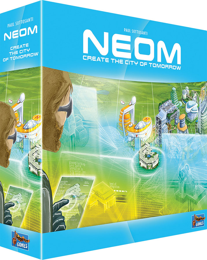 Neom: Create The City Of Tomorrow Game Box