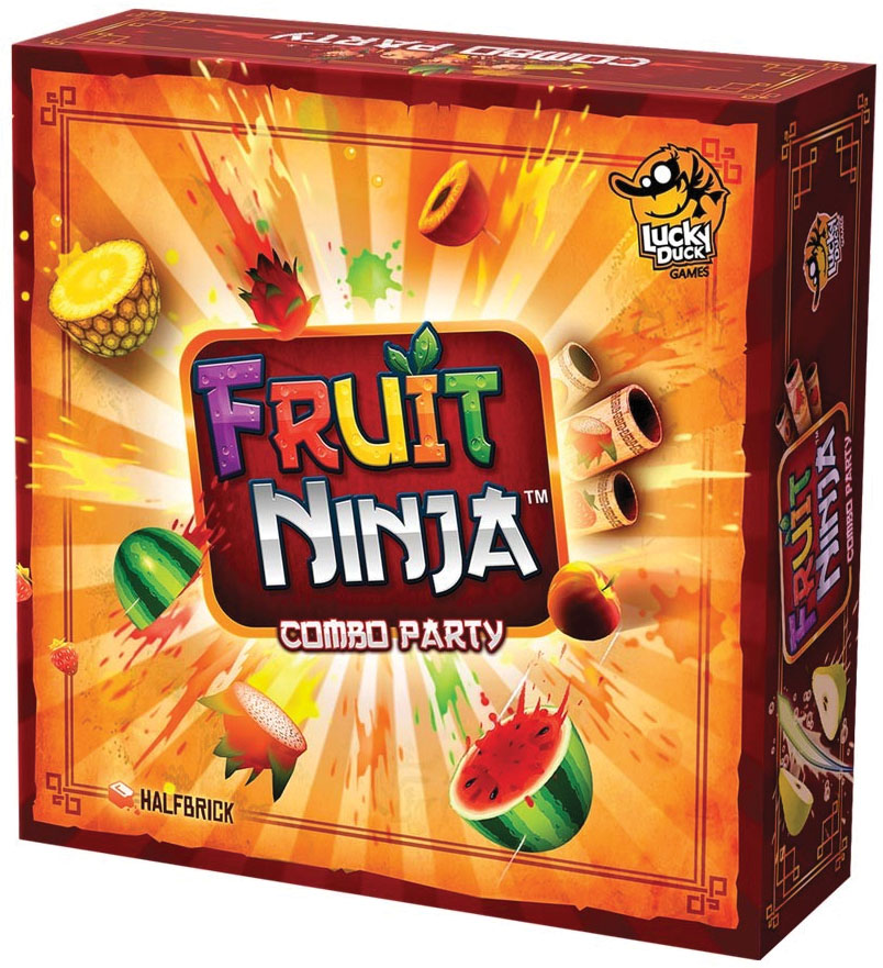 Fruit Ninja: Combo Party Box Front