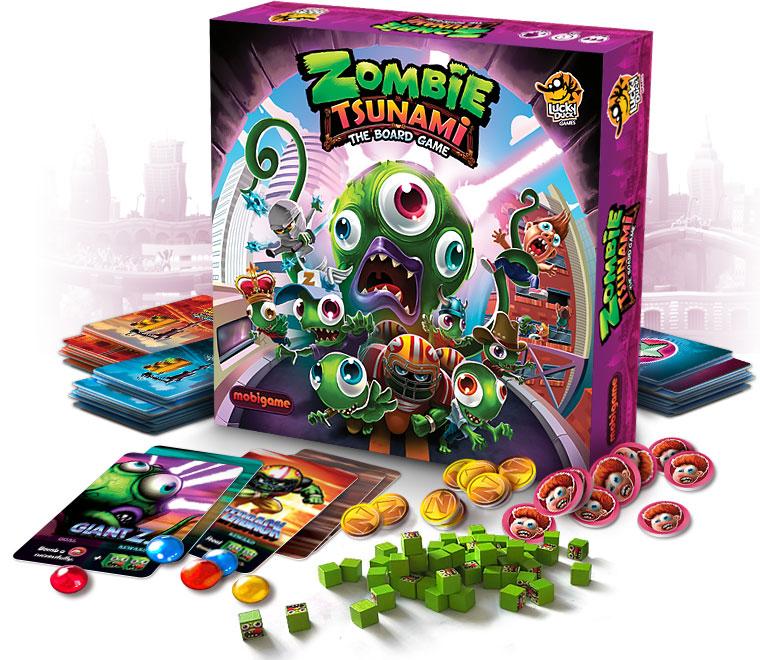 Zombie Tsunami Box Front