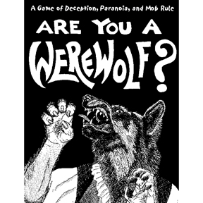 Are You A Werewolf Deck (display 6) Box Front