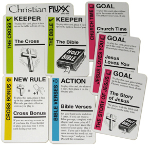 Christian Fluxx: Booster Box Front