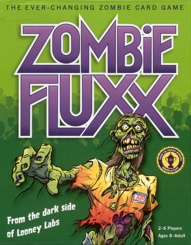Zombie Fluxx: Deck (display 6) Box Front