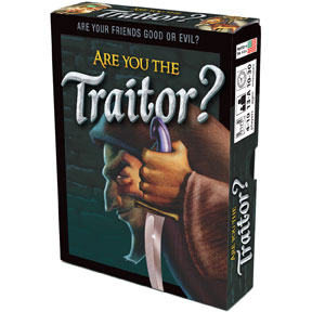 Are You The Traitor? Deck (display 6) Box Front