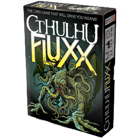 Cthulhu Fluxx: Deck (display 6) Box Front