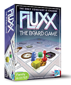 Fluxx: The Board Game Box Front