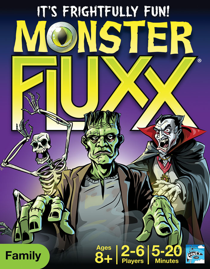 Monster Fluxx Box Front