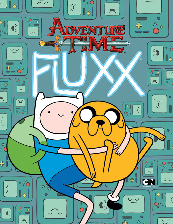 Adventure Time Fluxx Deck (display 6) Box Front