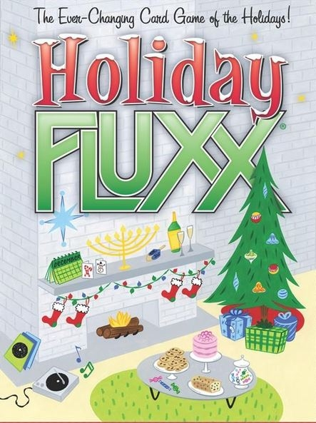 Holiday Fluxx: Deck (display 6) Box Front