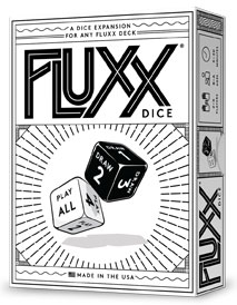 Fluxx: Dice Pack (display 6) Box Front