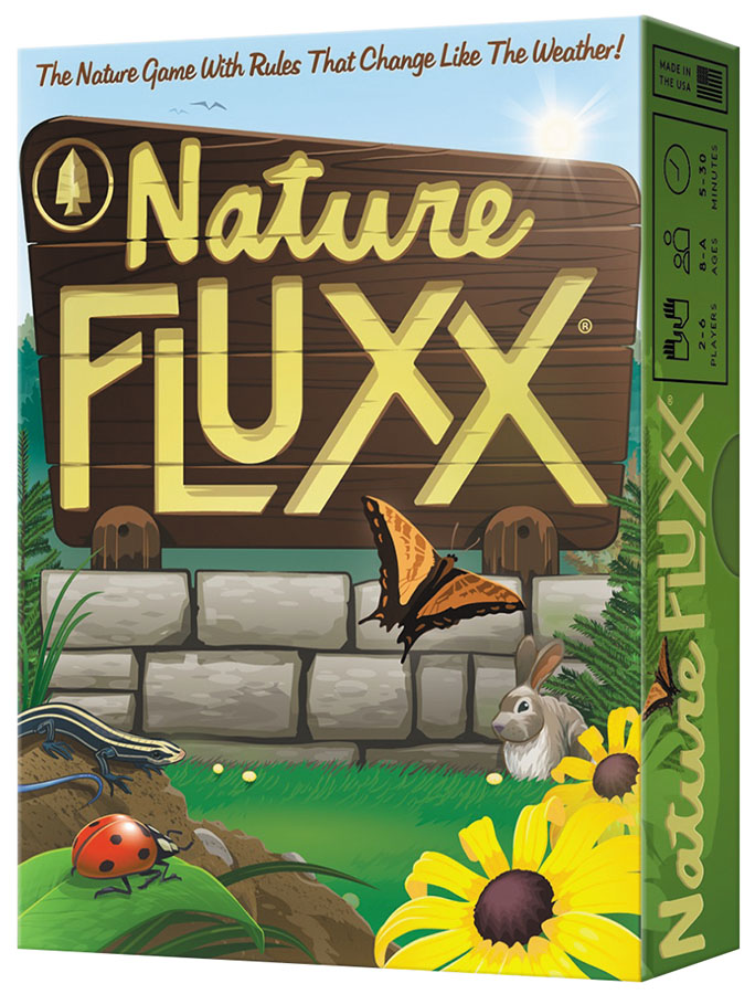 Nature Fluxx: Deck (display 6) Box Front