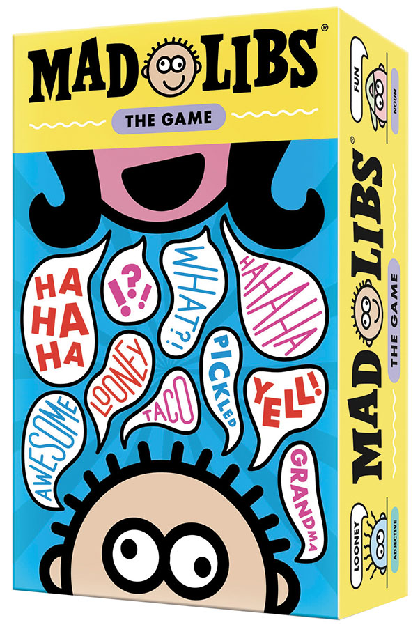 Mad Libs: The Game Box Front