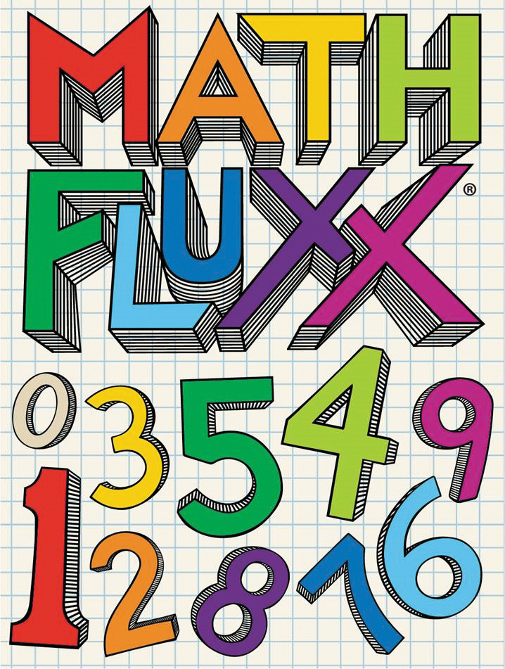 Math Fluxx: Deck (display 6) Box Front