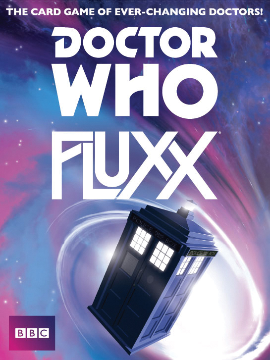 Doctor Who Fluxx Box Front