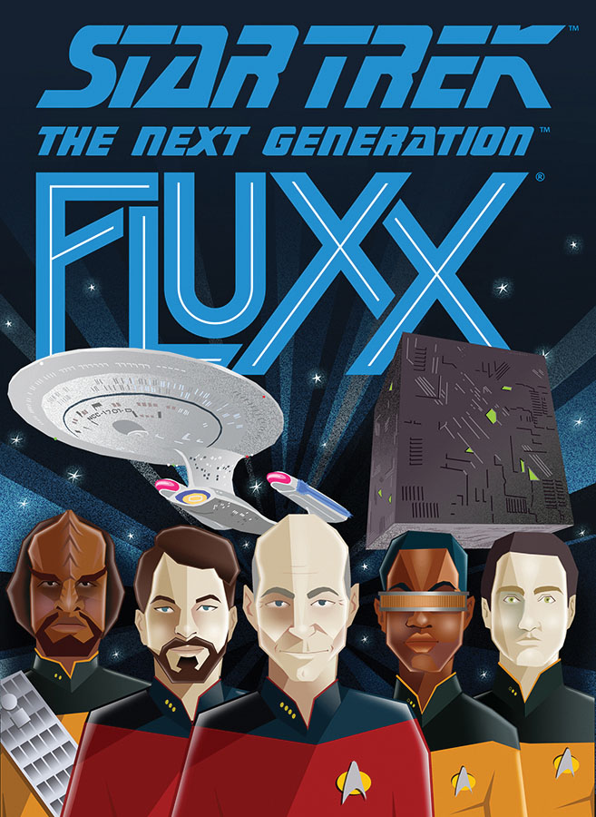 Star Trek: The Next Generation Fluxx (display 6) Game Box