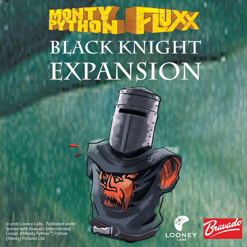 Monty Python Fluxx: Black Knight Expansion Game Box