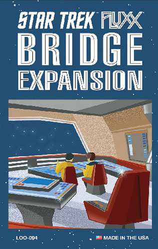 Star Trek Fluxx: Bridge Expansion Game Box