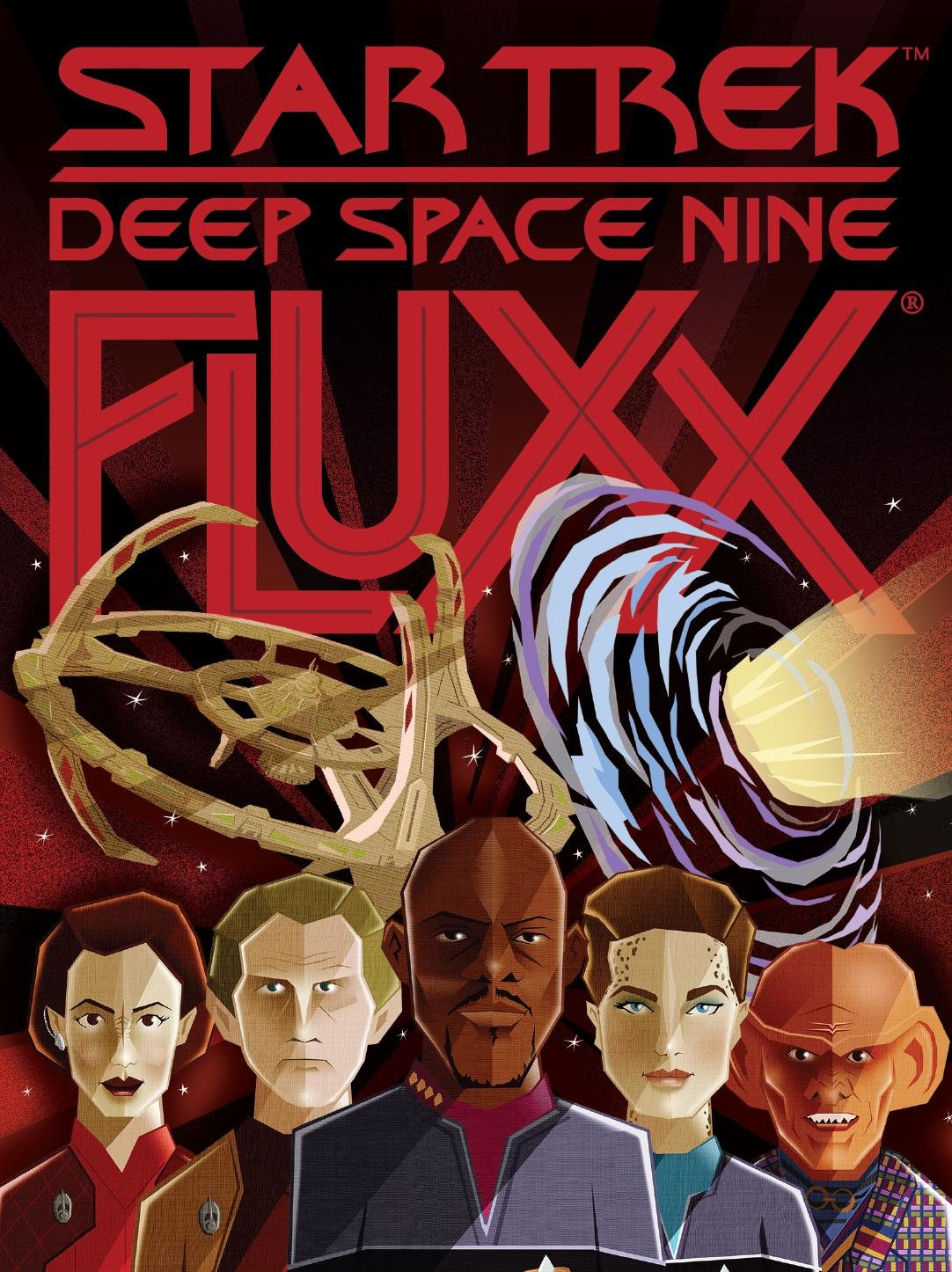 Star Trek: Deep Space Nine Fluxx (display 6) Game Box