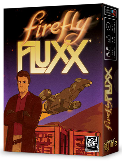 Firefly Fluxx: Deck (display 6) Box Front