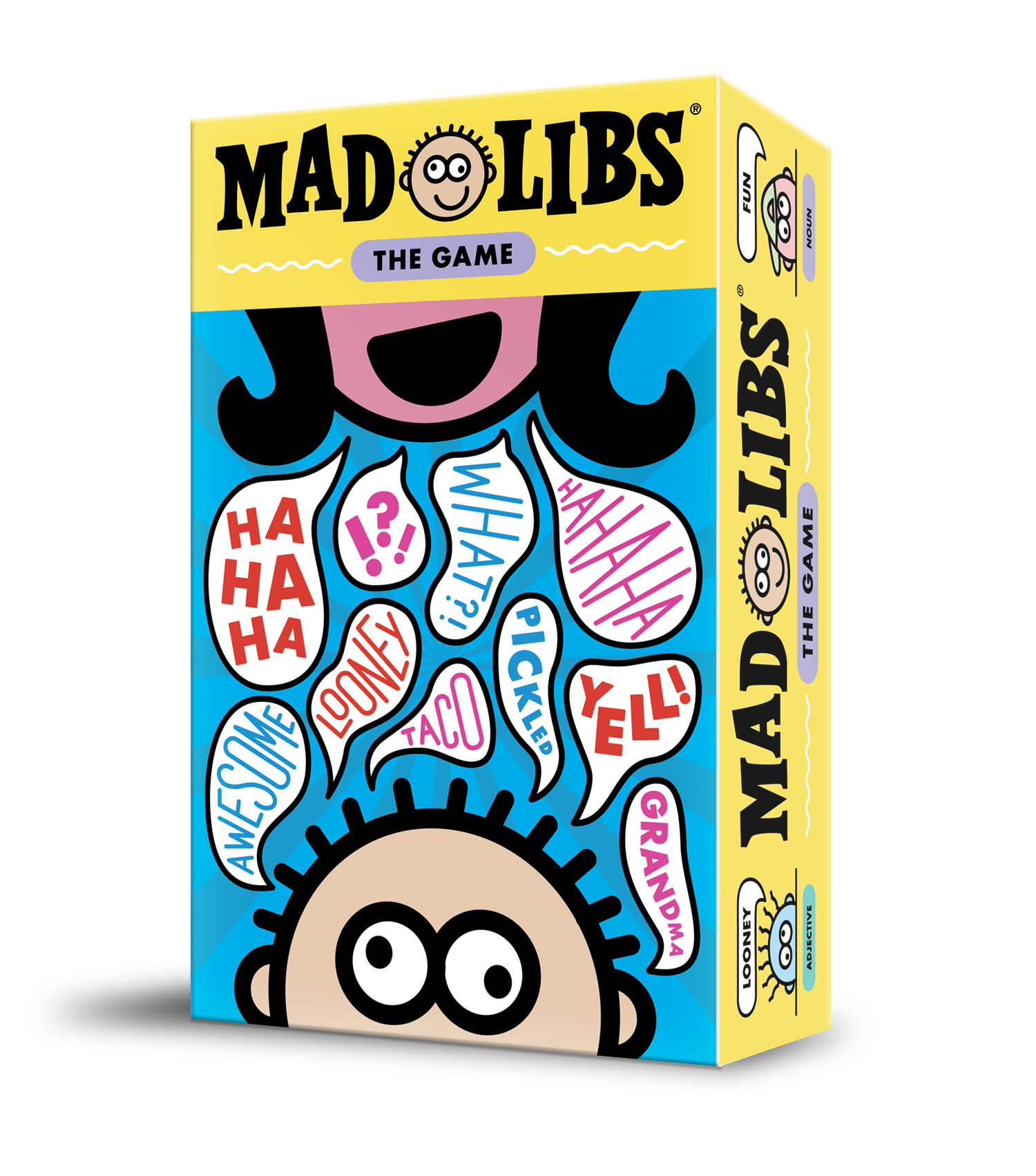 Mad Libs: The Game Demo Box Front