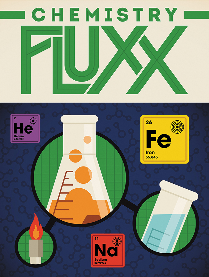 Chemistry Fluxx Demo Copy Box Front