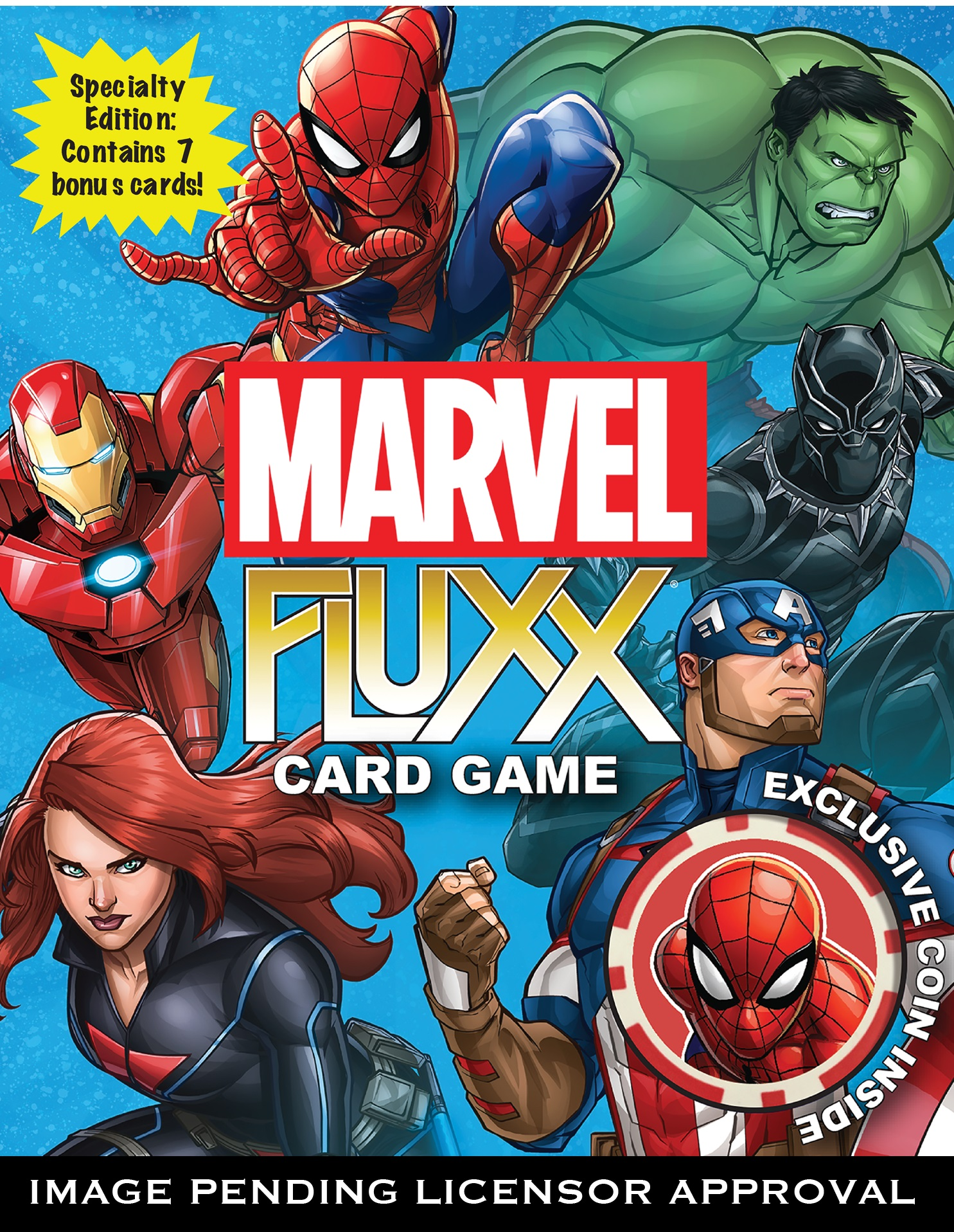 Marvel Fluxx Demo Game Box