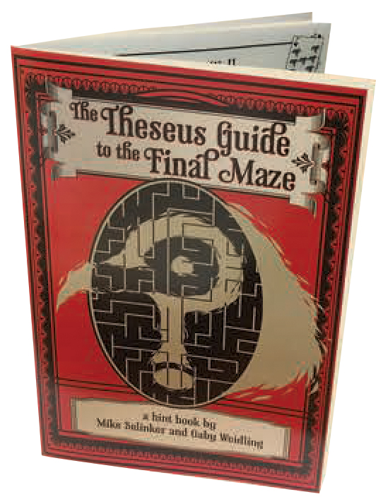 The Maze Of Games: Theseus Guide To The Final Maze Box Front