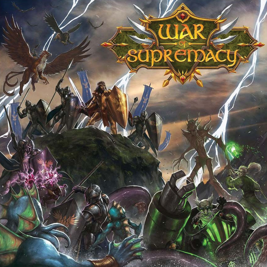 War Of Supremacy Game Box