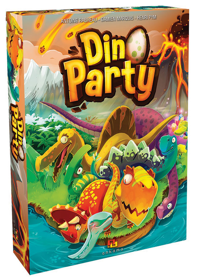 Dino Party Game Box