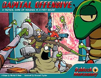 Schlock Mercenary: Capital Offensive Box Front