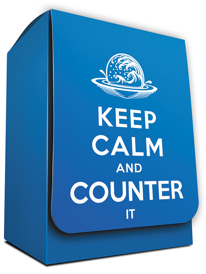 Deck Box: Keep Calm And Counter It Box Front