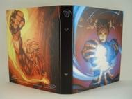 4-pocket Portfolio: Street Fighter Ken And Chun Li Box Front