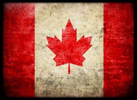 Sleeves (50) Shuffle-tech Flag Series: Canada Box Front