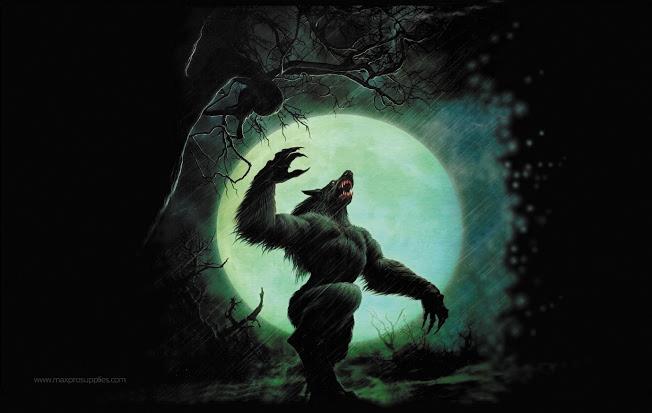Play Mat: Werewolf Box Front