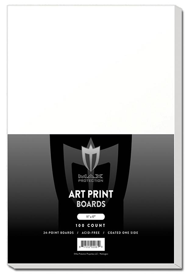 Art Print Backer Boards 11in X 17in (100) Box Front