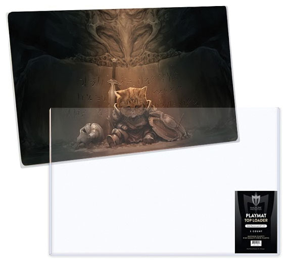 Playmat Topload Toploader Holder - 24in X 14in (5) Game Box