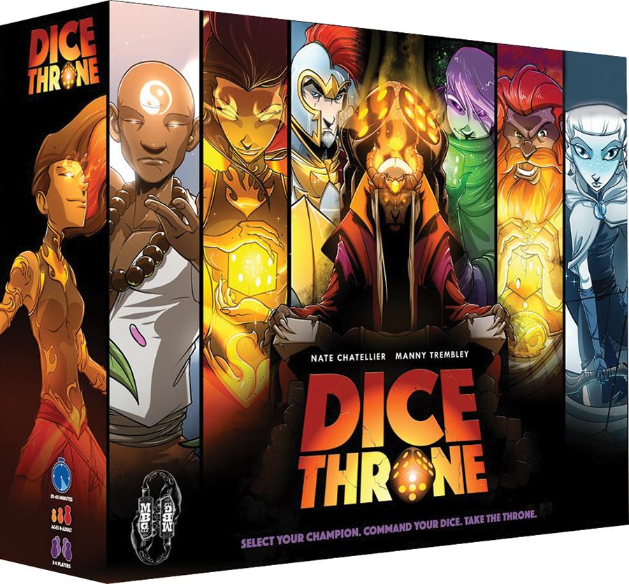 Dice Throne Box Front