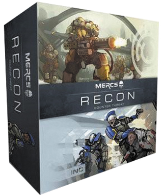 Mercs: Recon Counter Threat Box Front